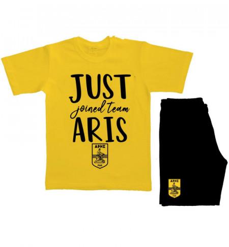 ΣΕΤ ΒΡΕΦΙΚΟ Κ.Μ. 'JUST joined team ARIS'