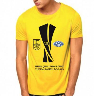 ΕΠΕΤΕΙΑΚΟ T-shirt EUROPA LEAGUE ΑΡΗΣ-ΜΟΛΝΤΕ